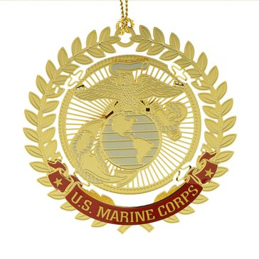 Chemart United States Marine Corps Military Keepsakes Ornament