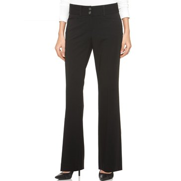 Alfani Regular Length Curvy Pant in Black