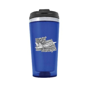 Sparta Pewter USN Blue Angels Colored Travel Mug
