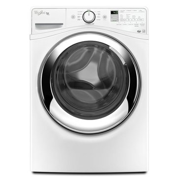 Whirlpool 4.3-Cu.Ft. Duet Steam Front Load Washer, White (WFW87HEDW)