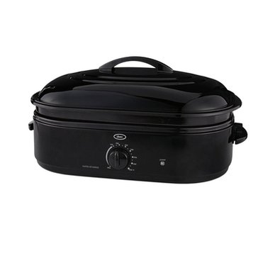 Oster 18-Quart Roaster Oven with Self-Basting Lid, Black (CKSTRS18-BSB-W)