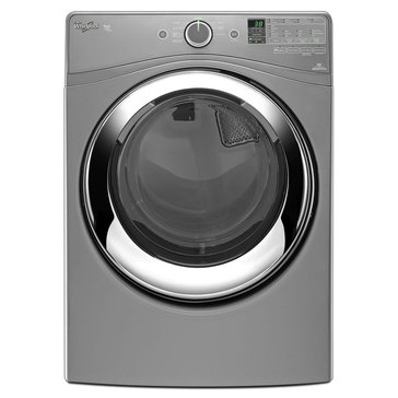 Whirlpool 7.4-Cu.Ft. Duet Front Load Gas Steam Dryer, Chrome (WGD87HEDC)