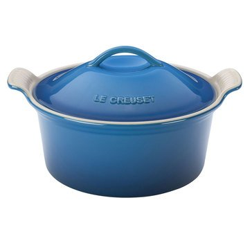 Le Creuset 3qt Covered Round Casserole, Marseille Blue