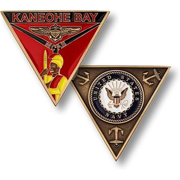 USN Naval Base Kaneohe Bay Coin