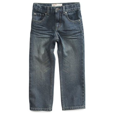 Epic Threads Little Boys' Straight Denim, Indigo