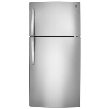 Kenmore 23.8-Cu.Ft. Top-Freezer Refrigerator, Stainless Steel (46-68033)
