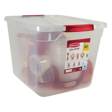 Rubbermaid 60-Piece TakeAlongs Food Storage Containers
