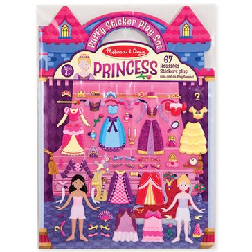 Melissa & Doug Puffy Sticker Play Set - Princess