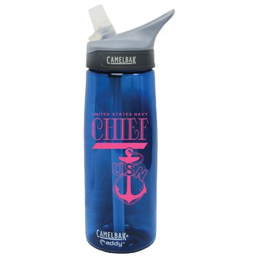 Camelbak eddy .75L USN Chief Navy Royal Pink