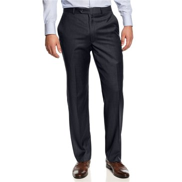 Lauren Suit Separate Pant- Men's Plain Front Pant-Navy