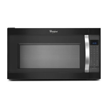 Whirlpool 2.0-Cu.Ft. Over-the-Range Microwave Oven, Black Ice (WMH53520CE)