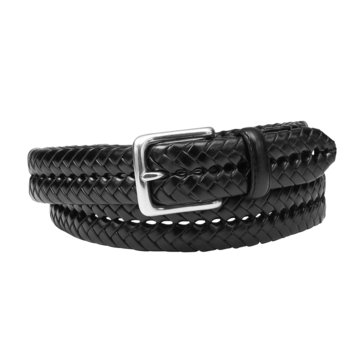Fossil Maddox Braid Belt (Black)