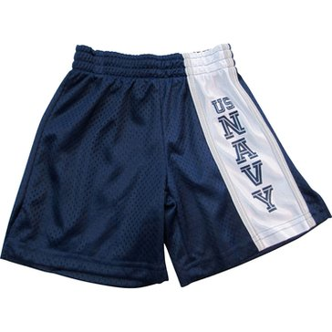 Third Street Sportswear Boys' USN Spirit Navy Panel Shorts