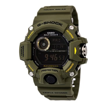 Casio G-Shock Men's Master of G RangeMan Watch GW9400-3, Green 55.2mm