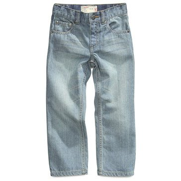 Epic Threads Little Boys' Straight Denim, Fadeout