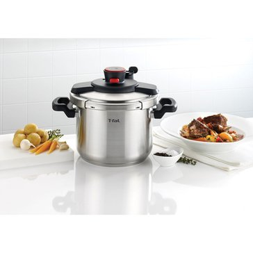 T-Fal Clipso 6-Quart Stainless Steel Pressure Cooker