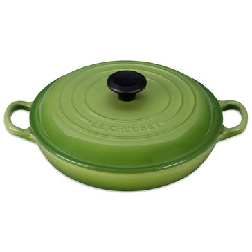 Le Creuset 3.75-Quart Braiser, Palm