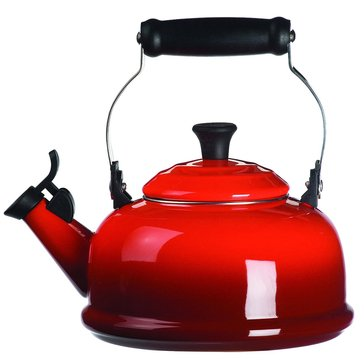 Le Creuset 1.8-Quart Whistling Kettle, Cherry