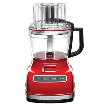 KitchenAid 11-Cup Food Processor with ExactSlice System - Empire Red (KFP1133ER)