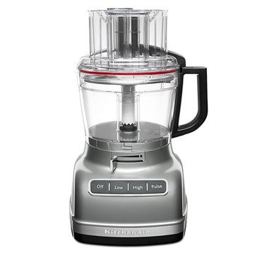 KitchenAid 11-Cup Food Processor with ExactSlice System - Contour Silver (KFP1133CU)
