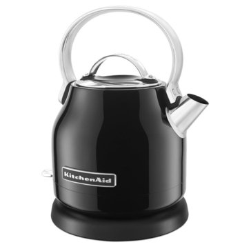 KitchenAid 1.25-Liter Small Space Electric Kettle - Onyx Black (KEK1222OB)
