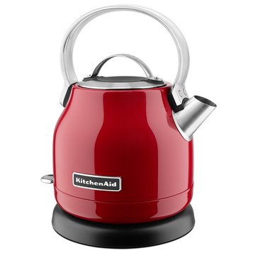KitchenAid 1.25-Liter Small Space Electric Kettle - Empire Red (KEK1222ER)