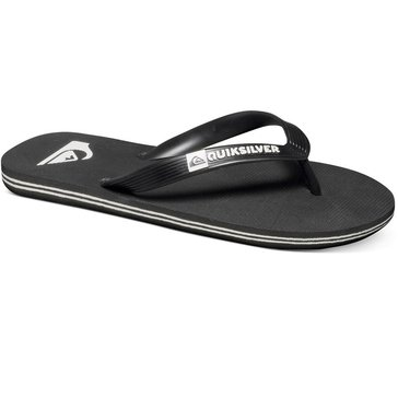 Quiksilver Boy's Molokai Youth Sandal Black/White