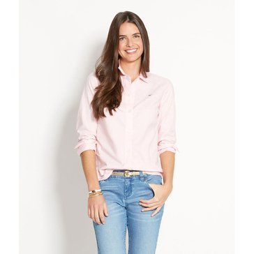 Vineyard Vines Oxford Shirt in Pink