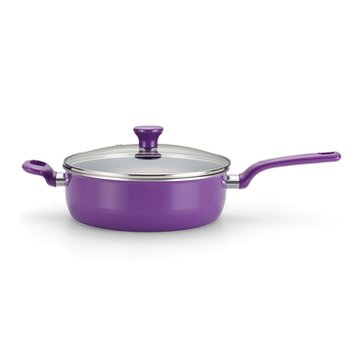 T-Fal Excite Covered Jumbo Cooker, Purple