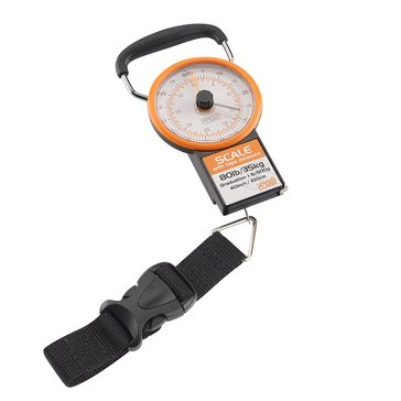 Lewis N. Clark Luggage Scale With Weight Indicator - Orange