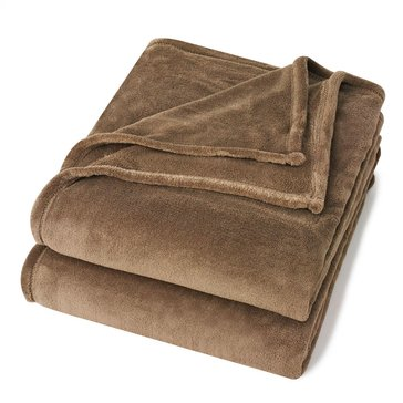 Berkshire Full/Queen Promo Blanket, Latte