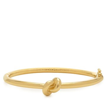 Kate Spade Gold Tone Sailors Knot Hinge Bangle