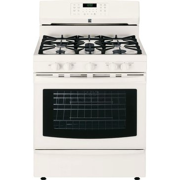 Kenmore 5.6-Cu.Ft. Gas Range w/ True Convection Oven, Bisque (22-74334)
