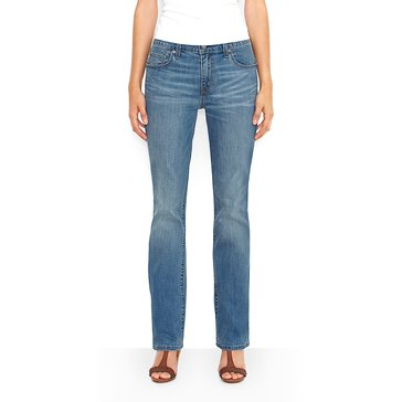Levi's Women's 515 Bootcut Jeans Blue Salvation