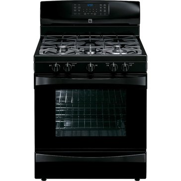 Kenmore Elite 5.6 Cu. Ft. Gas Range w/ True Convection, Black (22-75239)
