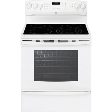 Kenmore 5.8-Cu.Ft. Electric Range w/ True Convection, White (22-94242)