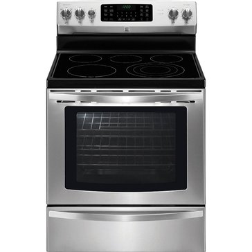 Kenmore 5.8-Cu.Ft. Electric Range w/ True Convection, Stainless Steel (22-94243)