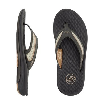 Reef Flex Men's Thong Sandal Dark Brown/Tan