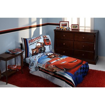 Disney Cars Fastest Team 4-Piece Toddler Bedding Set