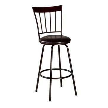 Cantwell Swivel Counter/Bar Stool with Nested Leg