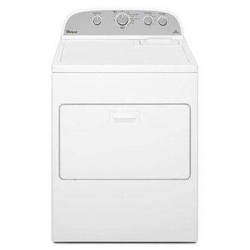 Whirlpool 7.0-Cu.Ft. Cabrio Gas Dryer, White (WGD5000DW)