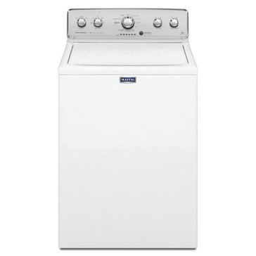 Maytag 4.3-Cu.Ft. Centennial Top Load Washer, White (MVWC555DW)