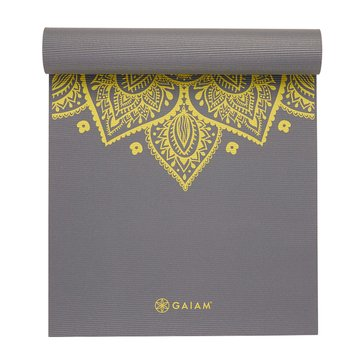 GAIAM 5MM Yoga Mat - Citron Sundial