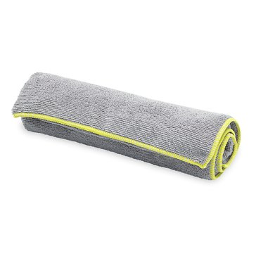 GAIAM Thirsty Yoga Hand Towel - Citron/Storm