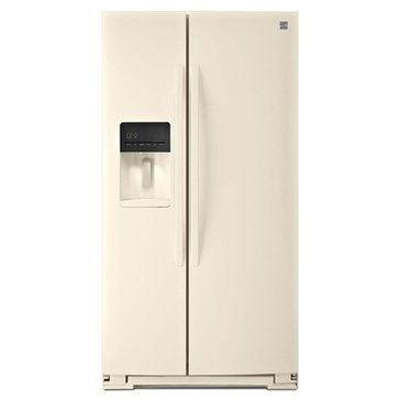 Kenmore 26-Cu.Ft. Side-by-Side Refrigerator, Bisque (46-51134)