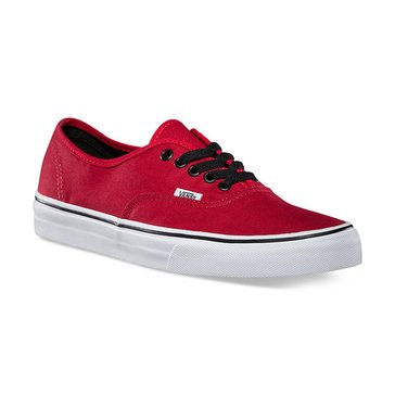 Vans Authentic Unisex Skate Shoe Chili Pepper