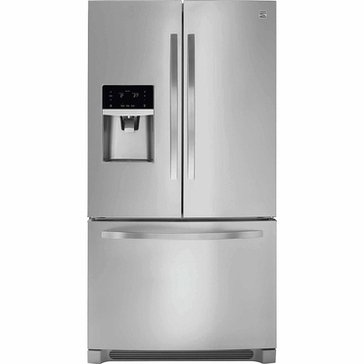 Kenmore 21.9-Cu.Ft. Counter-Depth French Door Refrigerator, Stainless Steel (46-70443)