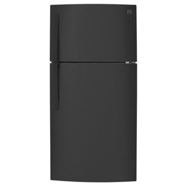 Kenmore 23.8-Cu.Ft. Top-Freezer Refrigerator w/ Internal Water Dispenser, Black (46-79439)