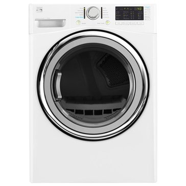 Kenmore 7.4-Cu.Ft.. Electric Dryer w/ Steam, White (26-81382)