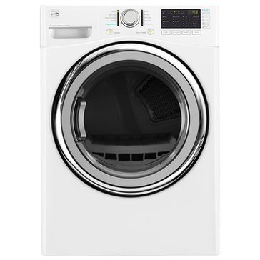 Kenmore 7.4-Cu.Ft.. Gas Dryer w/ Steam, White (26-91382)